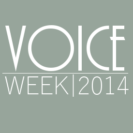 Voice Week 2014 Wednesday
