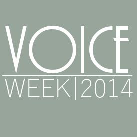 Voice Week 2014 Wednesday