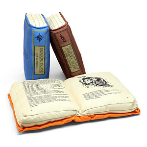 10 Drool-Worthy Gifts for Writers - #4 book pillows
